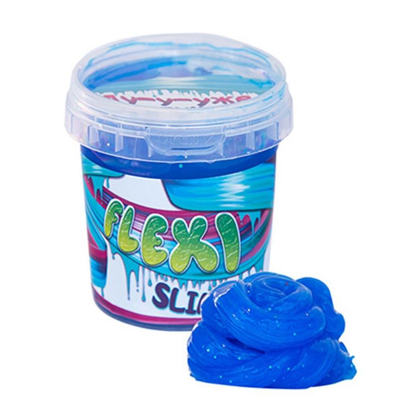 "Слайм ""Flexi Slime"" 125 г, синий 71833 купить в магазине ""Пустун"""