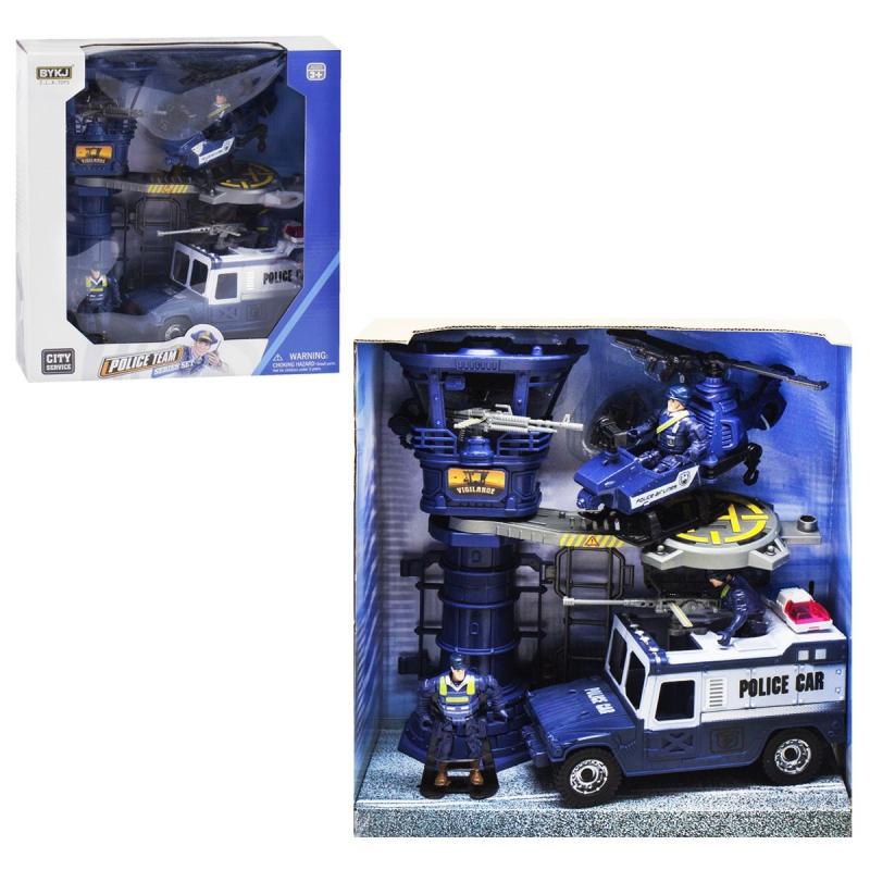 """Игровой набор Police Team 8835A купить в магазине """"Пустун"""""""