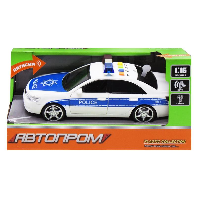 """Машинка """"Автопром. Полиция"""" 7668A купить в магазине """"Пустун"""""""