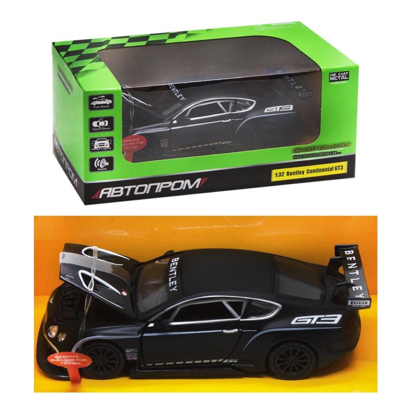 """Машинка """"Bently Continental GT3"""" из серии """"Автопром"""" 68353B купить в магазине """"Пустун"""""""