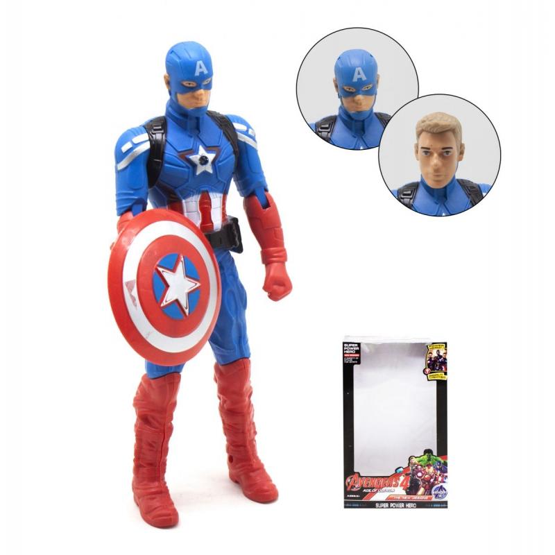 """Фигурка """"Мстители: Капитан Америка"""" 1883 купить в магазине """"Пустун"""""""