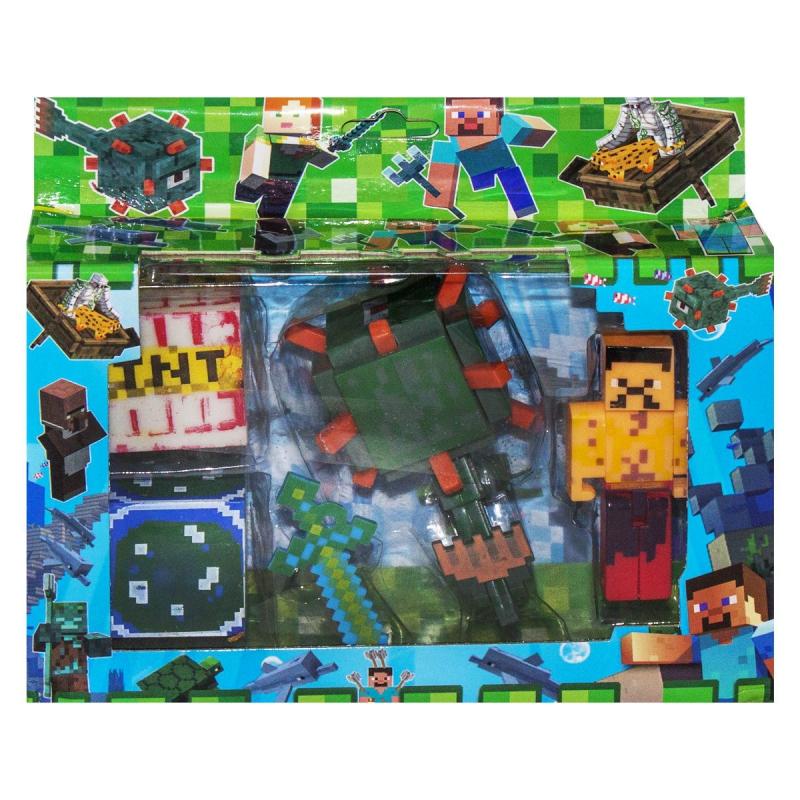 """Герои """"Minecraft"""", вид 1 J17 купить в магазине """"Пустун"""""""