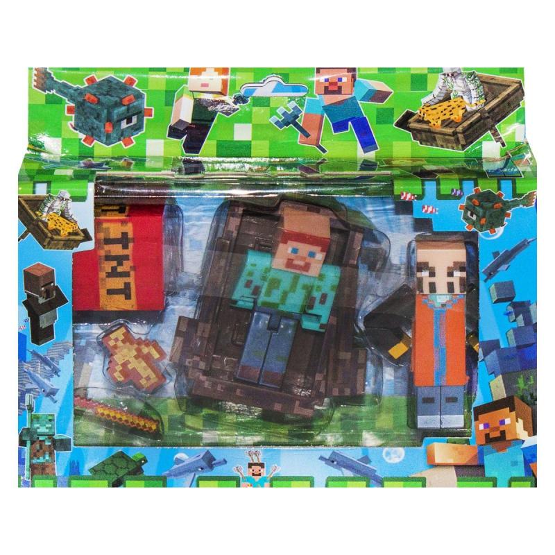 """Герои """"Minecraft"""", вид 2 J17 купить в магазине """"Пустун"""""""