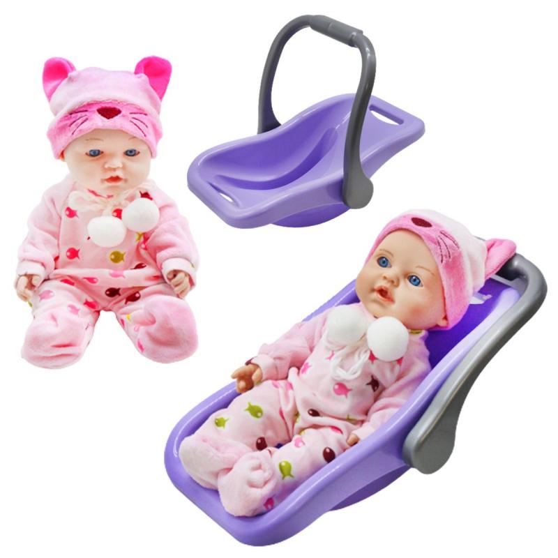 """Кукла """"Пупс с переноской"""", фиолетовый PU12 купить в магазине """"Пустун"""""""