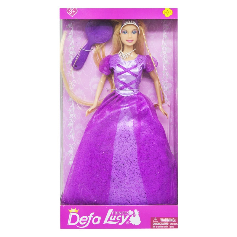 """Кукла """"Принцесса. Рапунцель"""" 8261 купить в магазине """"Пустун"""""""