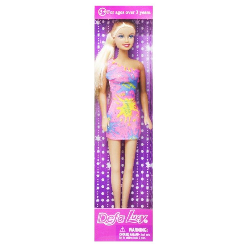 """Кукла """"Defa Lucy"""", в светло розовом 8258 купить в магазине """"Пустун"""""""