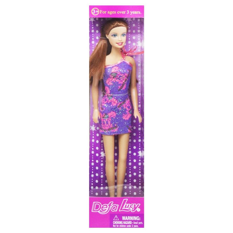 """Кукла """"Defa Lucy"""", в фиолетовом 8258 купить в магазине """"Пустун"""""""