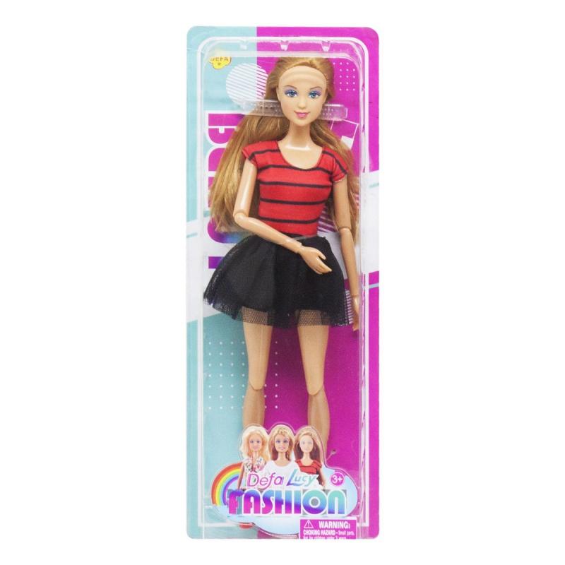 """Кукла """"Defa Lucy"""", в красном 8406 купить в магазине """"Пустун"""""""