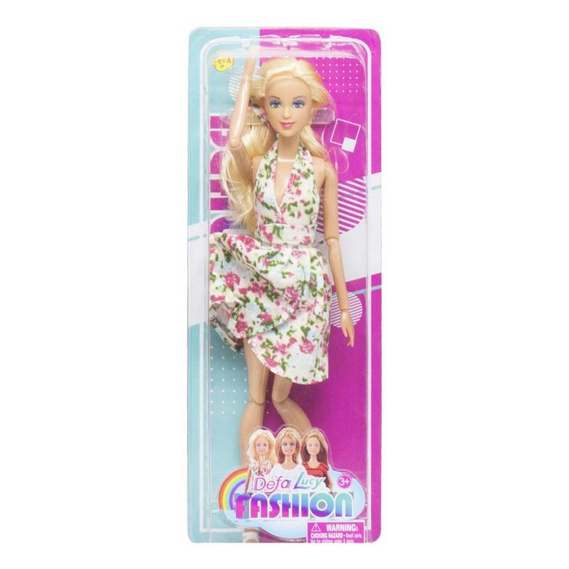 """Кукла """"Defa Lucy"""", цветочный принт 8406 купить в магазине """"Пустун"""""""