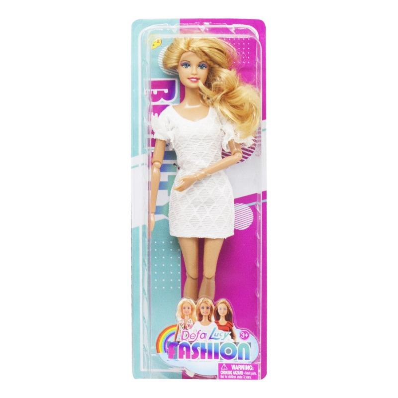 """Кукла """"Defa Lucy"""", в белом 8406 купить в магазине """"Пустун"""""""