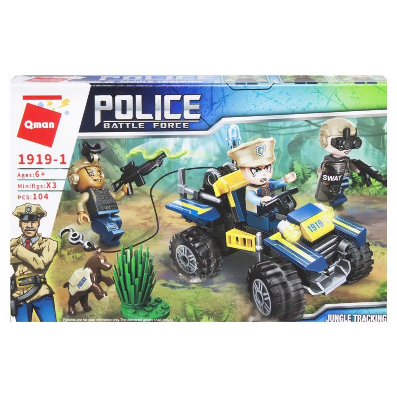 """Пластиковый конструктор """"Police"""", 104 дет 1919 купить в магазине """"Пустун"""""""