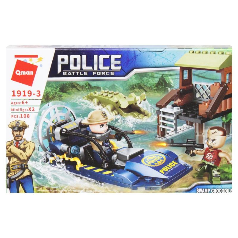 """Пластиковый конструктор """"Police"""", 108 дет 1919 купить в магазине """"Пустун"""""""