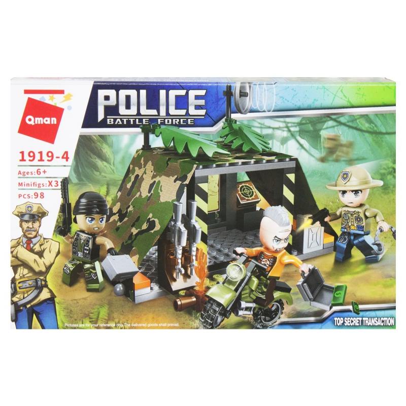 """Пластиковый конструктор """"Police"""", 98 дет 1919 купить в магазине """"Пустун"""""""