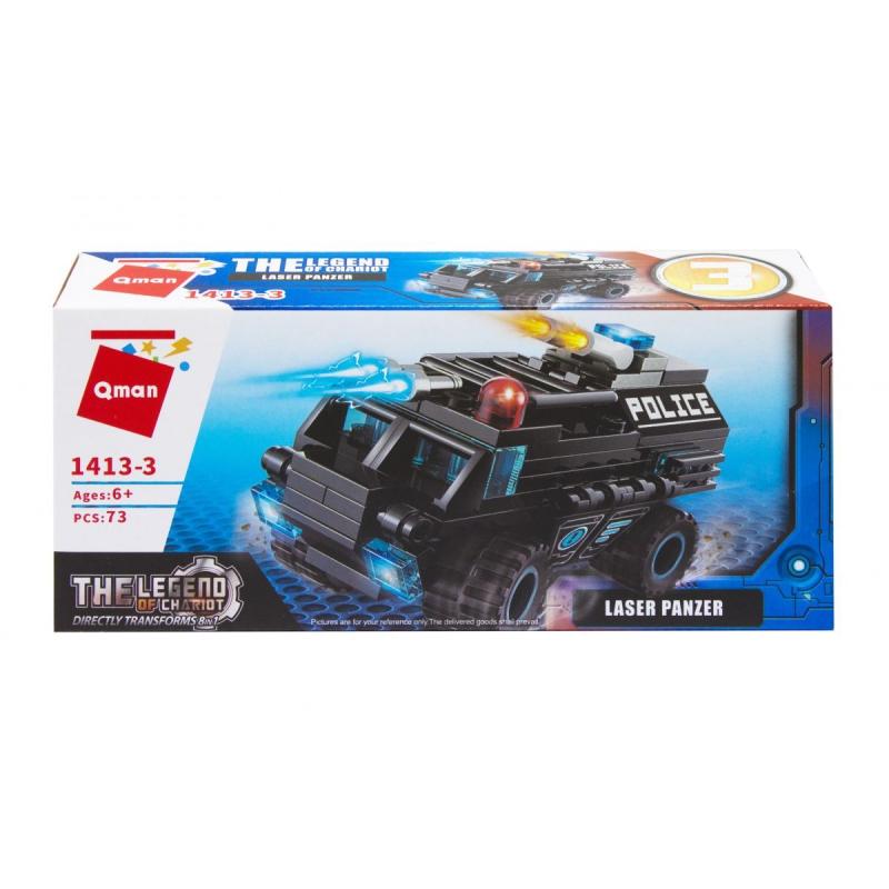 """Пластиковый конструктор """"Транспорт. Laser Panzer"""", 73 дет 1413 купить в магазине """"Пустун"""""""