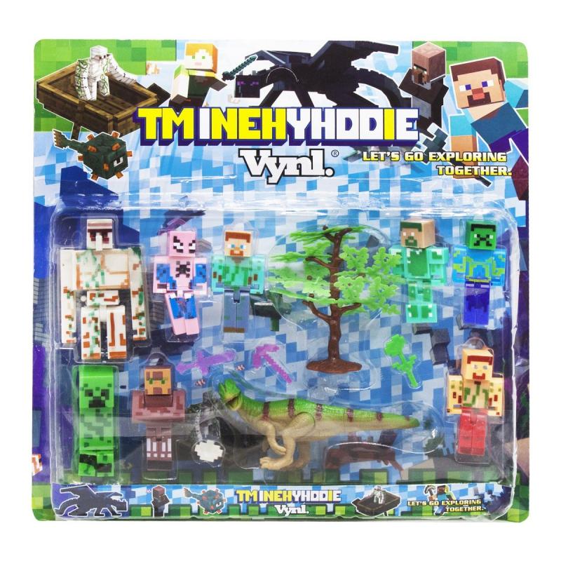 """Набор фигурок """"Minecraft"""" J06 купить в магазине """"Пустун"""""""
