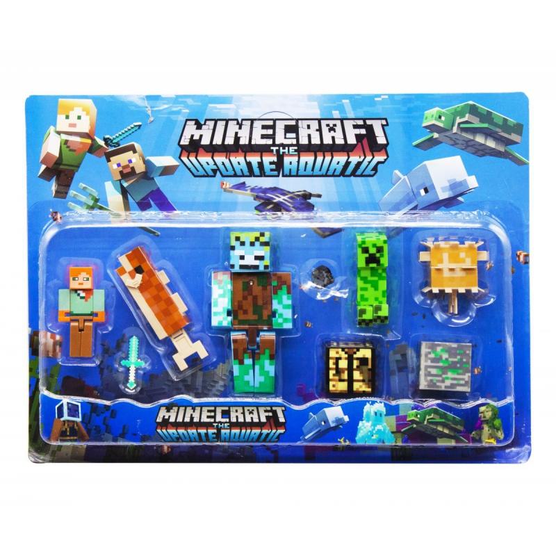 """Набор фигурок """"Minecraft"""", вид 1 JL19006-2 купить в магазине """"Пустун"""""""