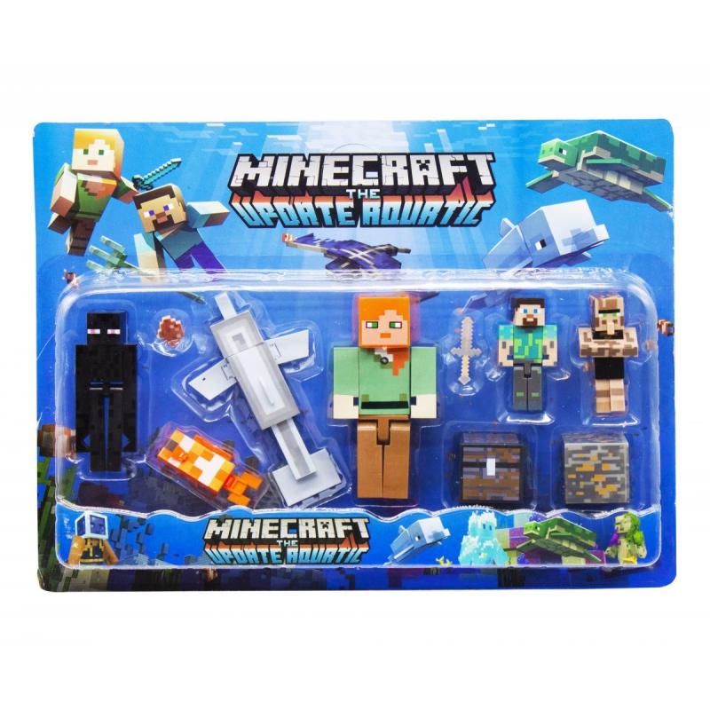 """Набор фигурок """"Minecraft"""", вид 3 JL19006-2 купить в магазине """"Пустун"""""""