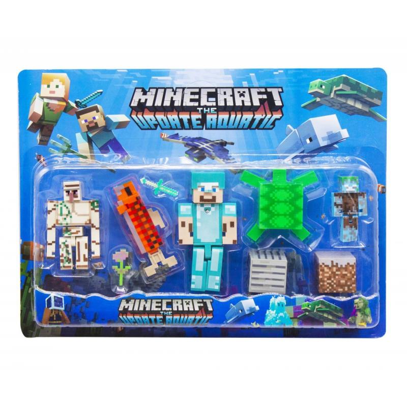 """Набор фигурок """"Minecraft"""", вид 4 JL19006-2 купить в магазине """"Пустун"""""""