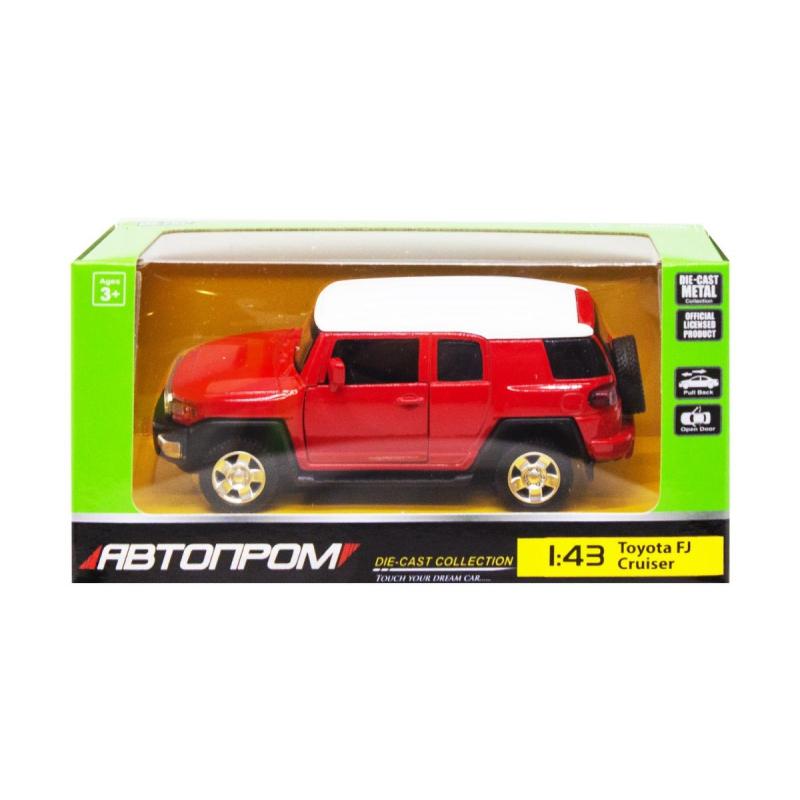 """Машинка """"Toyota FJ Cruiser"""" из серии """"Автопром"""", красный 4305 купить в магазине """"Пустун"""""""