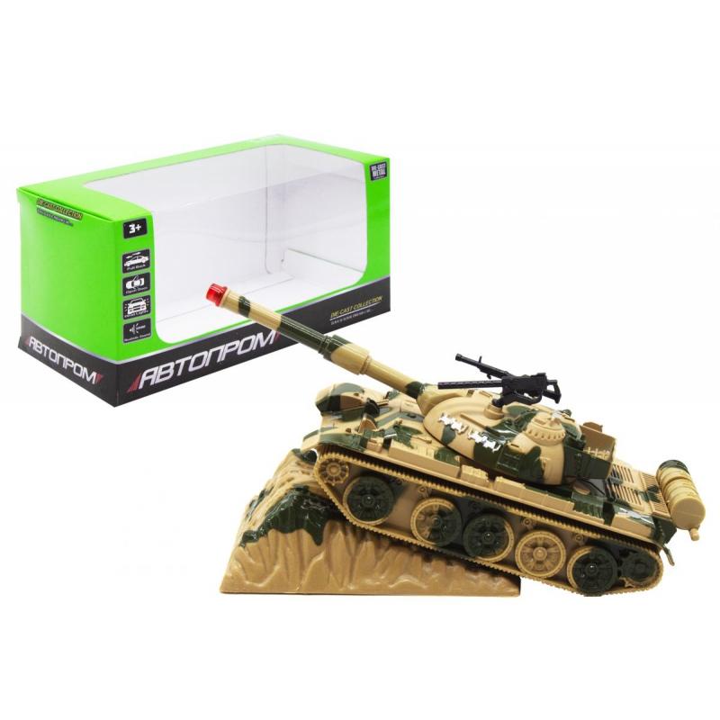 """Военная техника """"Автопром. Трактор"""", бежевый 2202 купить в магазине """"Пустун"""""""