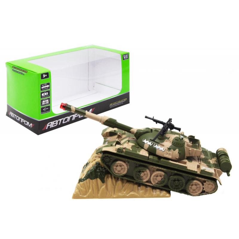 """Военная техника """"Автопром. Трактор"""", зеленый 2202 купить в магазине """"Пустун"""""""