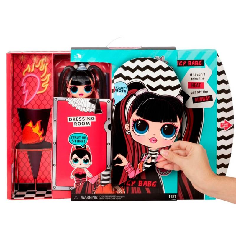 """Игровой набор с куклой L.O.L. Surprise! серии O.M.G. S4 – Спайси-Леди (572770) купить в магазине """"Пустун"""" Фото 4"""