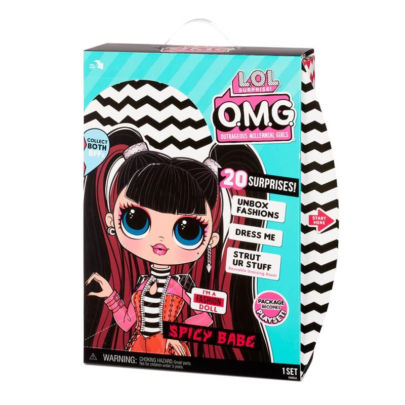 """Игровой набор с куклой L.O.L. Surprise! серии O.M.G. S4 – Спайси-Леди (572770) купить в магазине """"Пустун"""" Фото 7"""