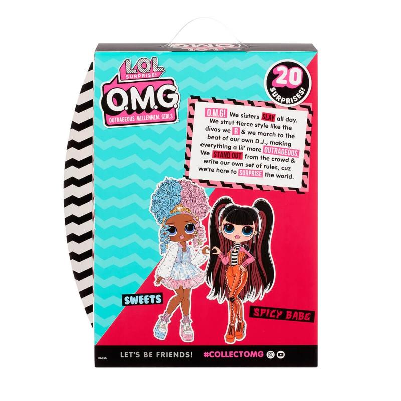 """Игровой набор с куклой L.O.L. Surprise! серии O.M.G. S4 – Спайси-Леди (572770) купить в магазине """"Пустун"""" Фото 10"""