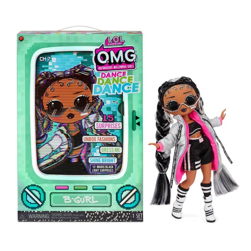 """Набор с куклой L.O.L. Surprise! серии O.M.G.Dance  Брейк-данс Леди (117858) купить в магазине """"Пустун"""""""
