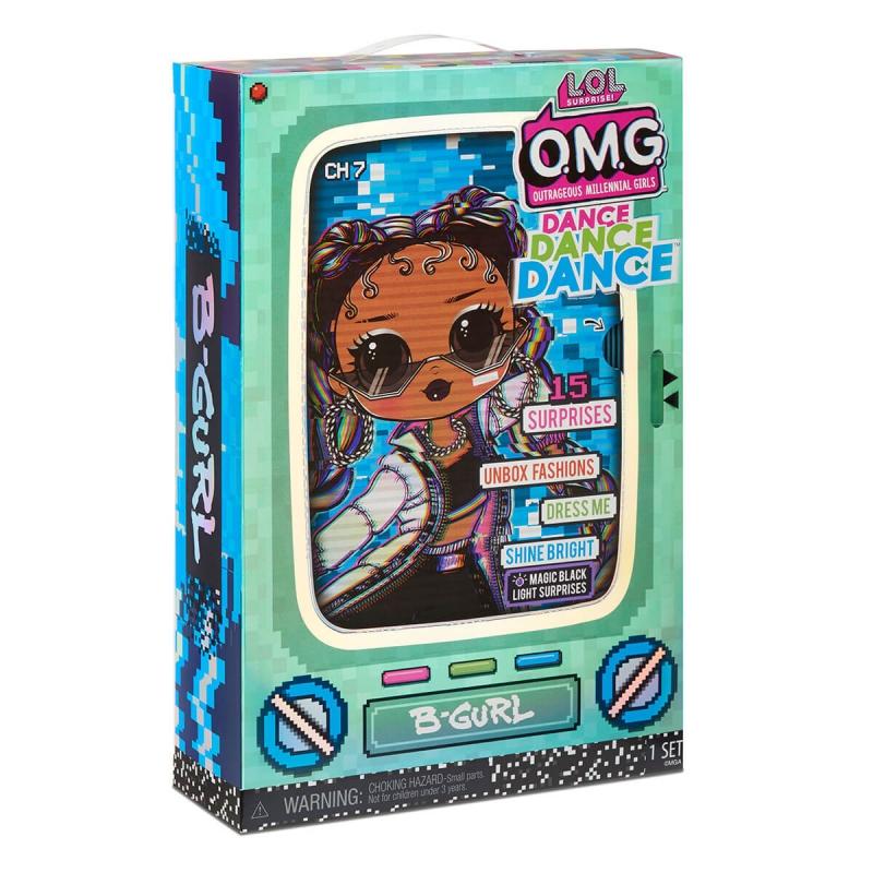 """Набор с куклой L.O.L. Surprise! серии O.M.G.Dance  Брейк-данс Леди (117858) купить в магазине """"Пустун"""" Фото 11"""
