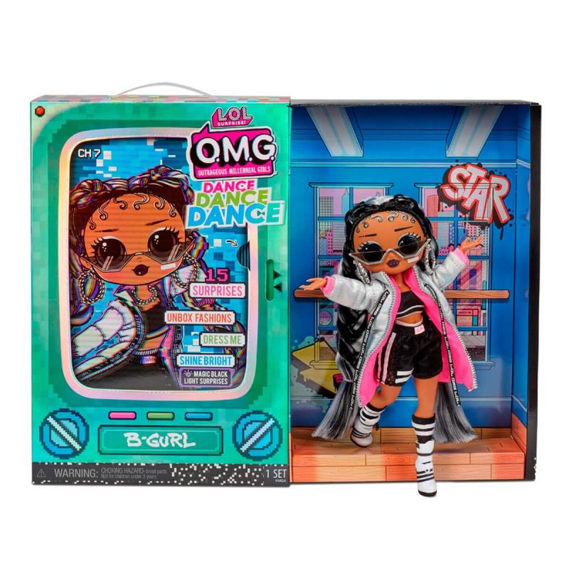 """Набор с куклой L.O.L. Surprise! серии O.M.G.Dance  Брейк-данс Леди (117858) купить в магазине """"Пустун"""" Фото 5"""