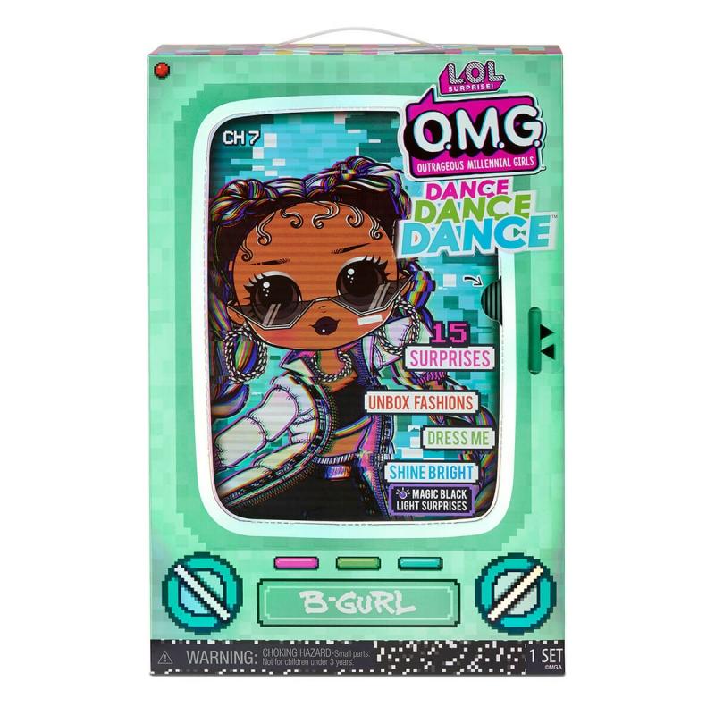 """Набор с куклой L.O.L. Surprise! серии O.M.G.Dance  Брейк-данс Леди (117858) купить в магазине """"Пустун"""" Фото 10"""