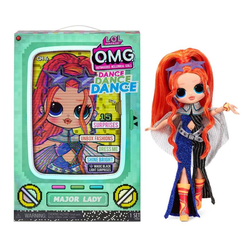 """Набор с куклой L.O.L. Surprise! серии O.M.G.Dance  Леди-Крутышка (117889) купить в магазине """"Пустун"""""""