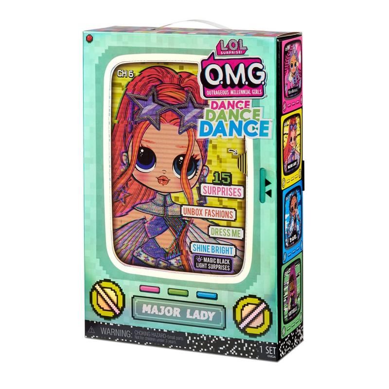 """Набор с куклой L.O.L. Surprise! серии O.M.G.Dance  Леди-Крутышка (117889) купить в магазине """"Пустун"""" Фото 9"""