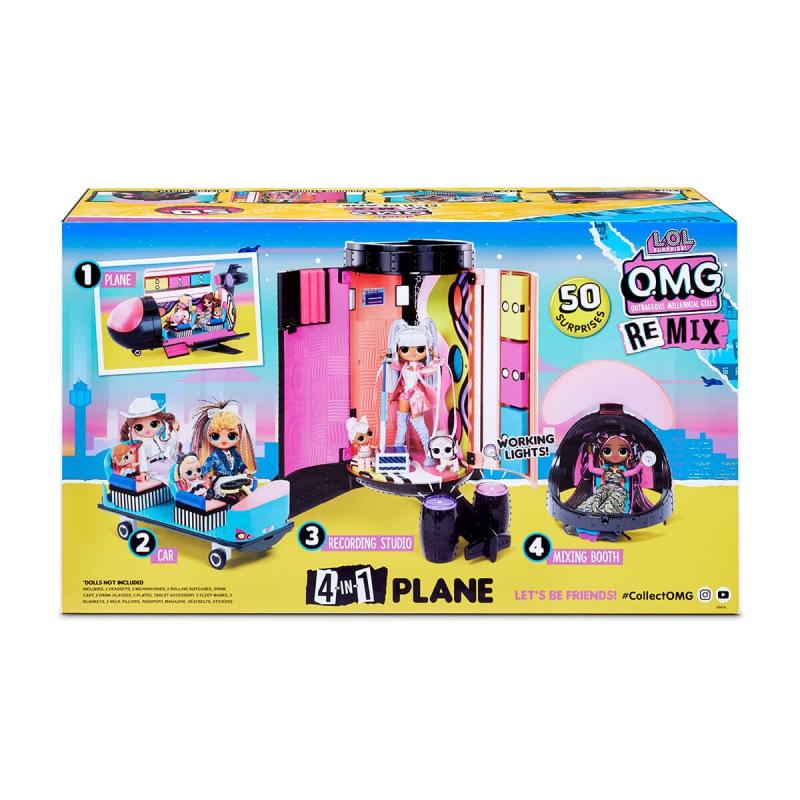 """Игровой набор L.O.L. Surprise! серии Remix  Самолет (571339) купить в магазине """"Пустун"""" Фото 20"""