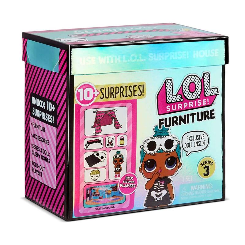 """Игровой набор с куклой L.O.L. Surprise! серии Furniture S2  Комната Леди-Сплюшки (570035) купить в магазине """"Пустун"""""""