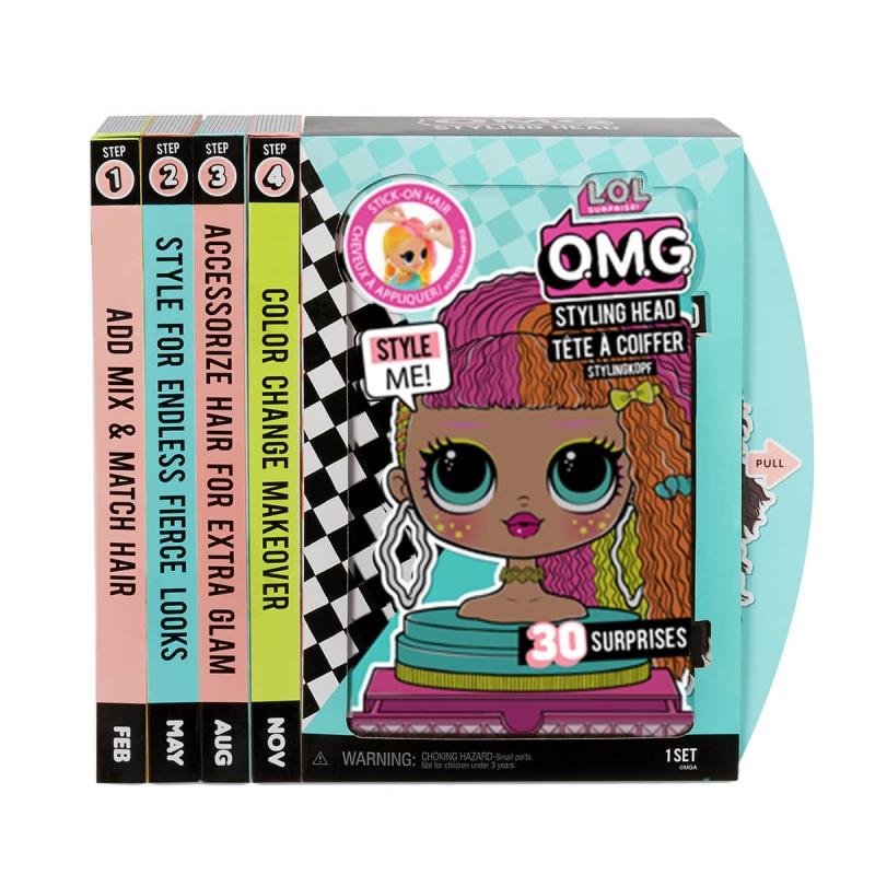"Кукла-манекен L.O.L SURPRISE! серии O.M.G.  ЛЕДИ НЕОН (565963) купить в магазине ""Пустун"""