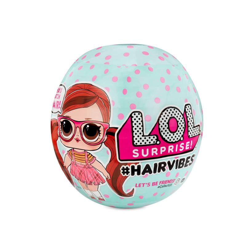 """Игровой набор с куклой L.O.L SURPRISE! S6 W1 серии Hairvibes  МОДНЫЕ ПРИЧЕСКИ (564744-W1) купить в магазине """"Пустун"""""""