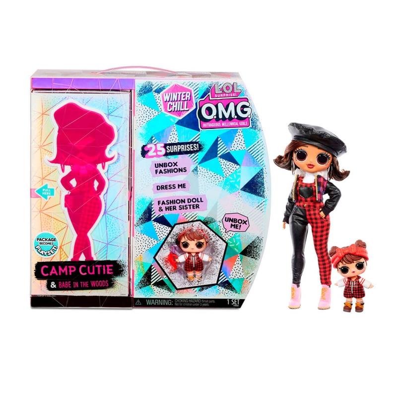 """Игровой набор с куклой L.O.L. Surprise! серии O.M.G Winter Chill – Очаровашка (570257) купить в магазине """"Пустун"""""""