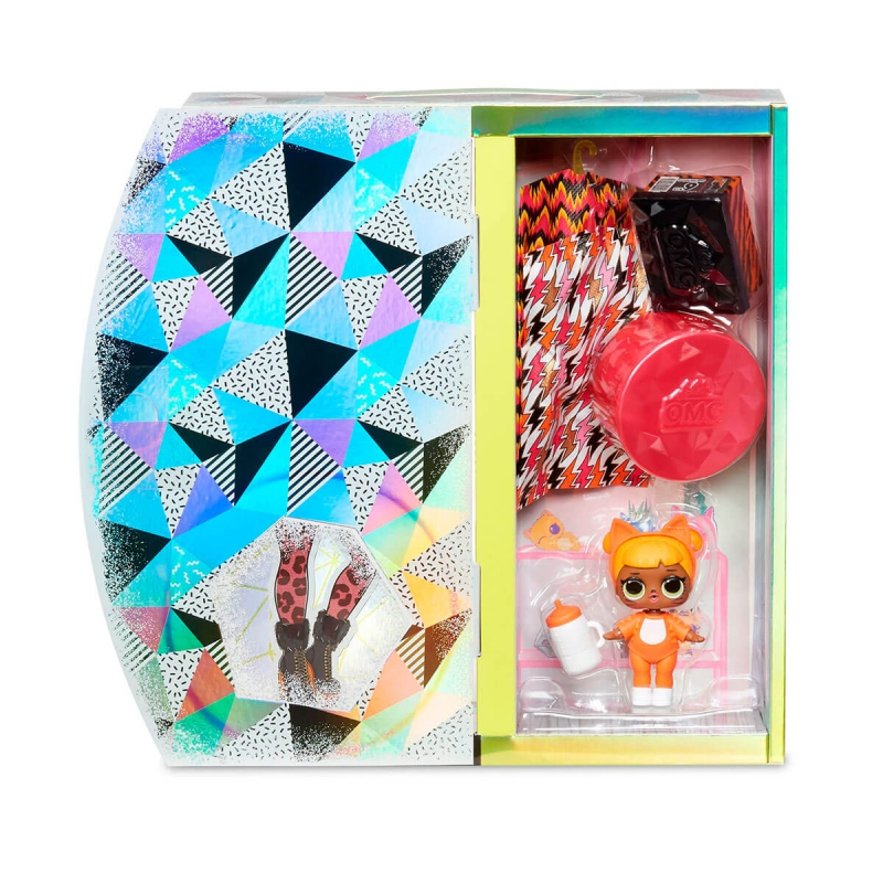 """Игровой набор с куклой L.O.L. Surprise! серии O.M.G Winter Chill – Леди-Китти (570271) купить в магазине """"Пустун"""" Фото 4"""