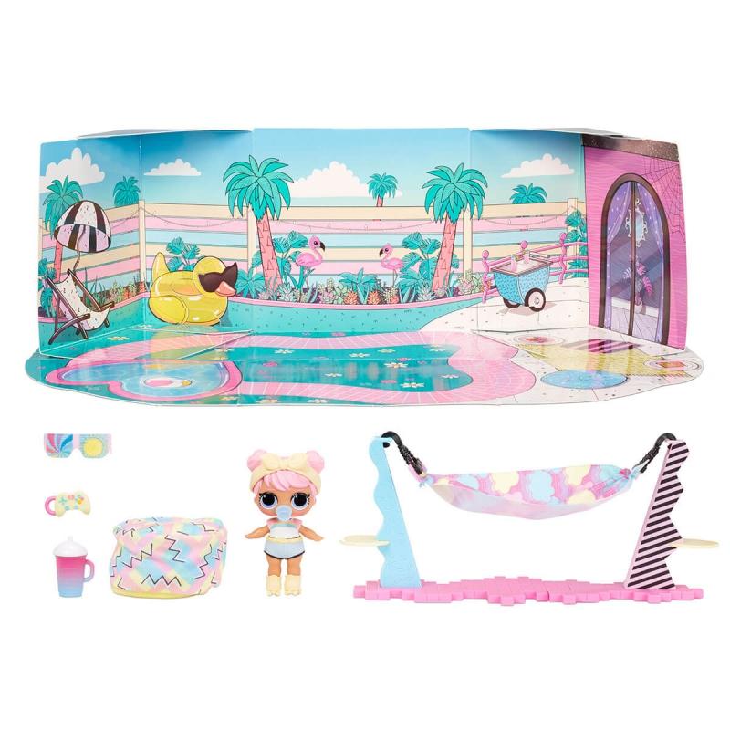 """Игровой набор с куклой L.O.L. Surprise! серии Furniture  Леди-Релакс (572633) купить в магазине """"Пустун"""" Фото 6"""