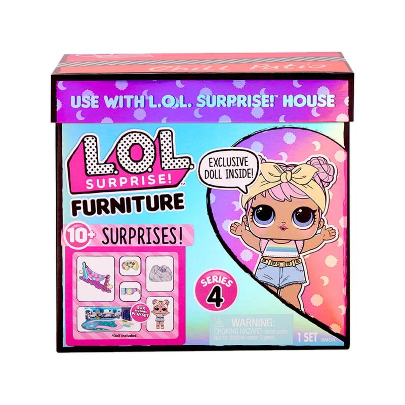 """Игровой набор с куклой L.O.L. Surprise! серии Furniture  Леди-Релакс (572633) купить в магазине """"Пустун"""" Фото 7"""