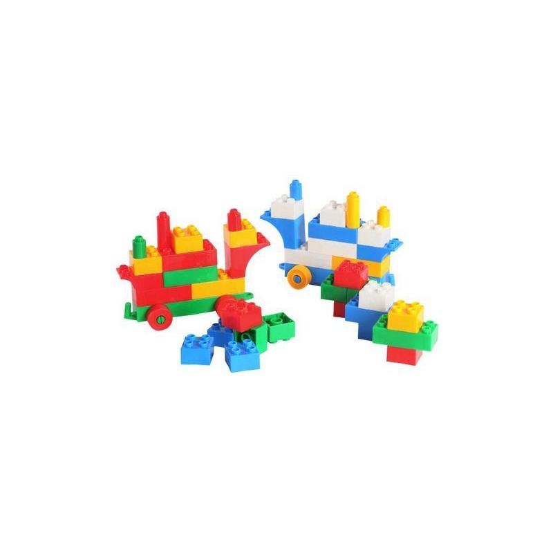 """Конструктор пластиковый, 50 деталей (39094) купить в магазине """"Пустун"""""""