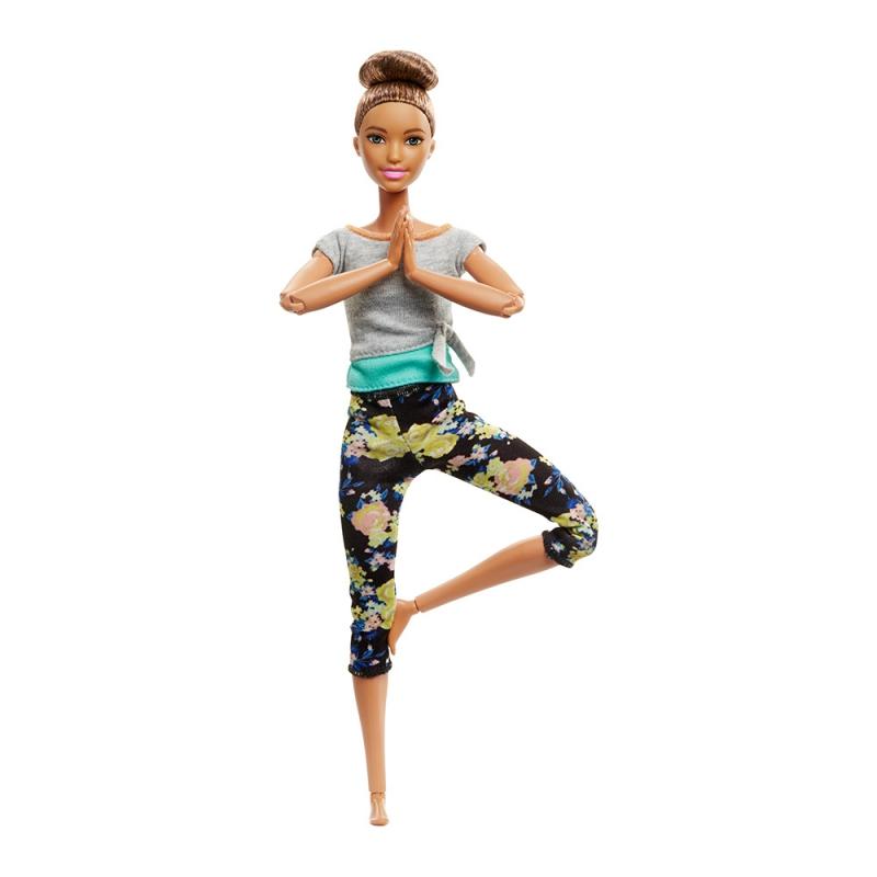 """Кукла Barbie Двигайся как я (обновлённая) Шатенка (FTG82) купить в магазине """"Пустун"""""""