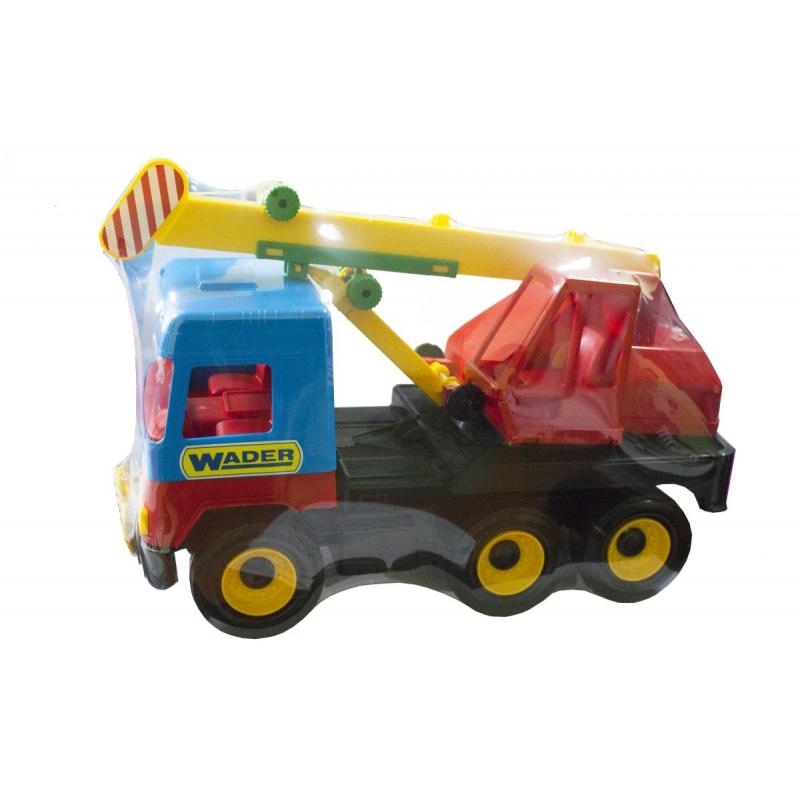 """Игрушечный подъемный автокран TIGRES Middle truck (39226) купить в магазине """"Пустун"""""""
