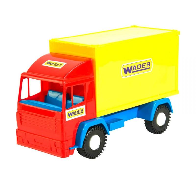"""Контейнеровоз """"Mini truck"""" 39210 купить в магазине """"Пустун"""""""