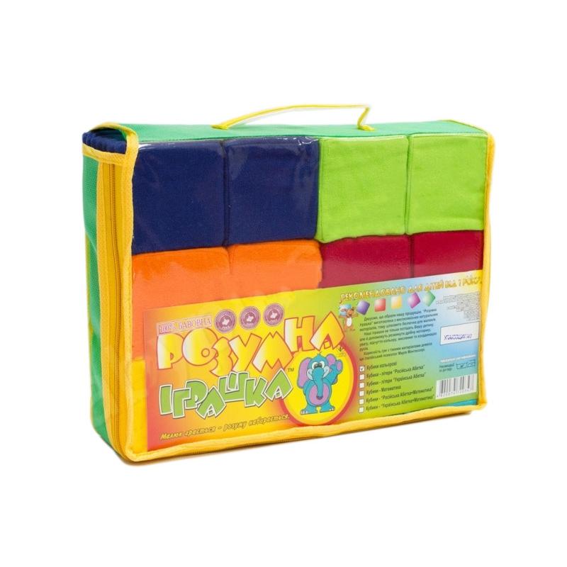 """Кубики мягкие, 7 х 7 см (12 штук) купить в магазине """"Пустун"""""""