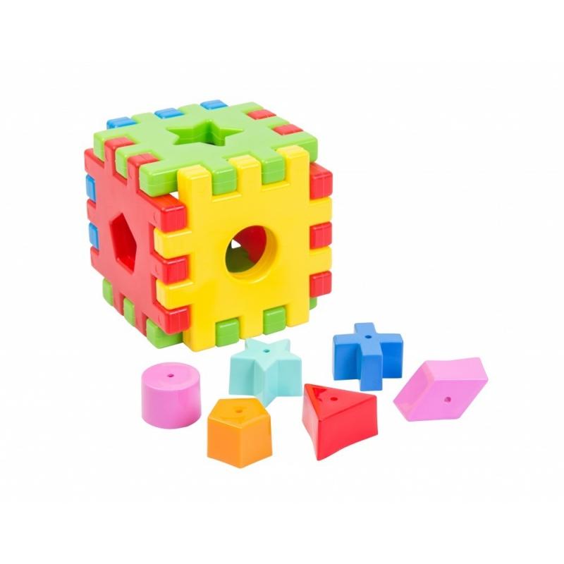 """Сортер TIGRES Волшебный куб (39176) купить в магазине """"Пустун"""""""