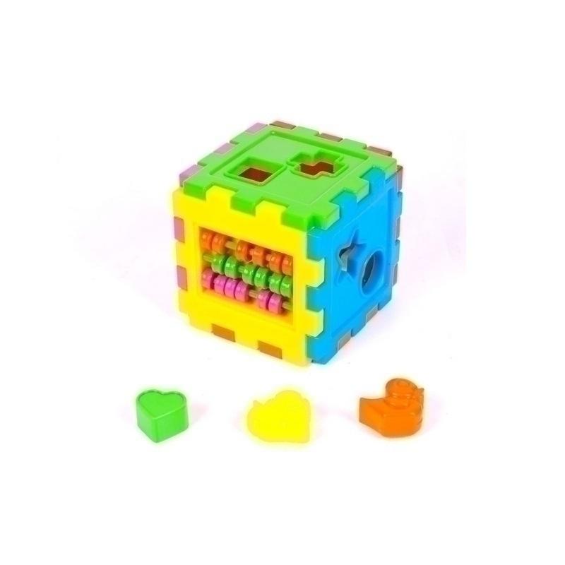 """Логический куб-сортер, со счетами KW-50-201 купить в магазине """"Пустун"""""""