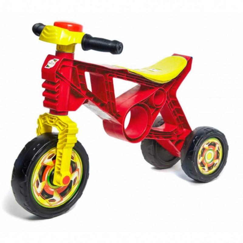 """Мотоцикл пластиковый """"Беговел"""" (красный) 171 купить в магазине """"Пустун"""""""